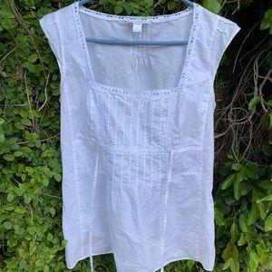 LOFT Tops - White Vintage Blouse